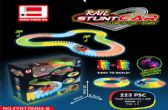 36 Units of GLOW IN THE DARK RACE TRACK SMALL - Light Up Toys