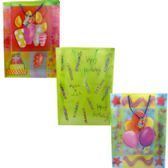"96 Units of Premium Birthday Gift Bags, 17 3/4"" x 13"" x 4"" - Gift Bags Everyday"