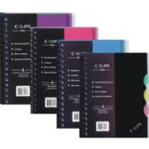 "48 Units of Tuff Poly Note Book - 4 subject - 5"" x 8"" - Notebooks"