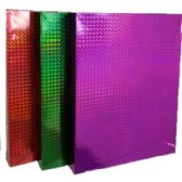 48 Units of Holographic gift boxes, 3 pack - Gift Bags