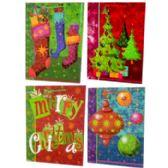 """72 Units of Christmas Gift Bags - JUMBO size - 23"""" x 16"""" x8.75"""" - A - Gift Bags Christmas"""