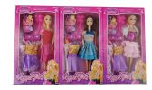 48 Units of FASHION DOLL WITH/ 2 DRESS - Dolls