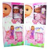 12 Units of DOLL WITH STROLLER AND PLAY ACCESSORIES - Dolls