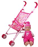 18 Units of DOLL STROLLER WITH 14INCH DOLL - Dolls