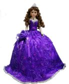"12 Units of 18"" QUINCEANERA DOLL -PURPLE - Dolls"
