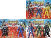 48 Units of 8.5 IN ACTION FIGURES - Action Figures & Robots