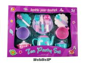 24 Units of TEA SET MIXED COLORS LARGE - Toy Sets
