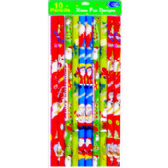 72 Units of Christmas Pencils - 10 pack - Pencils