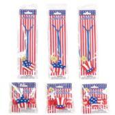 48 Units of Light Up Necklace & Bracelet Patriotic - 4TH OF JULY