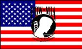 "12 Units of 3' x 5' polyester flag, US flag, ""POW-MIA"" with grommets - Flag"