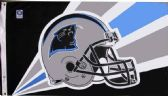 4 Units of 3' x 5' Carolina Panthers NFL licensed flag, Helmet design, AMERICAN MADE FLAG with grommets - Flags