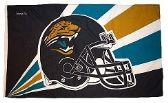 4 Units of 3' x 5' Jacksonville Jaguars NFL licensed flag, Helmet design, AMERICAN MADE FLAG with grommets - Flags