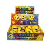 48 Units of Light Up Emoji Balls - Toys & Games