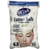 48 Units of 100ct Cotton Balls - Cotton Balls & Swabs