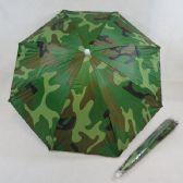 "40 Units of 16"" UV Protection Umbrella Hat-Camo - Umbrellas & Rain Gear"