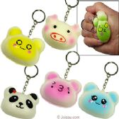 48 Units of Squish Animal Keychains - Key Chains