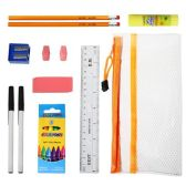 48 Units of 8 piece Wholesale Kids School Supply Kit - School Supply Kits