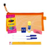 48 Units of 9 Piece Wholesale Kids School Supply Kit - School Supply Kits