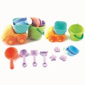 18 Units of 10 Piece sand car play set - Beach Toys