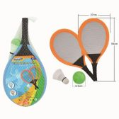 12 Units of 4 Piece fun racket set - SUMMER TOYS