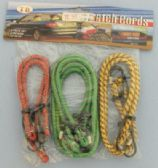 36 Units of 6pc Bungee Cord - Rope and Twine