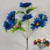 12 Units of 7 Head Flowers - Artificial Flowers