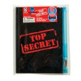 36 Units of Top Secret Confidential Spy Notebook - Notebooks