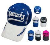12 Units of Air Mesh KENTUCKY Hat - Caps & Headwear