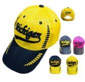 12 Units of Air Mesh MICHGIGAN Hat - Caps & Headwear