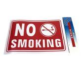 "72 Units of 11.8""X7.9"" SIGN [NO SMOKING] - Sign"