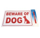 """72 Units of 11.8""""X7.9"""" SIGN [BEWARE OF DOG] - Sign"""