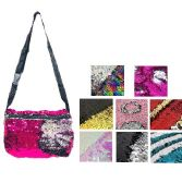"72 Units of 6.25""X9.75"" REVERSIBLE SEQUIN WAIST PACK - Fanny Pack"