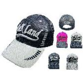 72 Units of AIR MESH OAKLAND HAT - Caps & Headwear