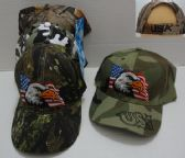 12 Units of Camo Eagle Hat - Baseball Caps/Snap Backs