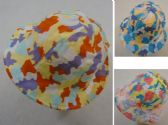 12 Units of Child's Bucket Hat [Camo/Teddy Bear] - Bucket Hats