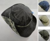 d7d14607e3e 12 Units of Cotton Washed Floppy Boonie  Camo Band  - Cowboy   Boonie Hat