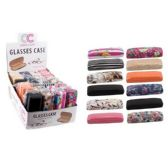 12 Units of GLASSES CASE-ASSORTED PRINTS - Eye Glass/Sun glass Case