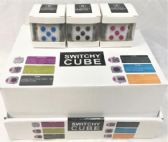 24 Units of Wholesale 24 pcs display fidget cubes assorted colored - Fidget Spinners