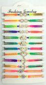 12 Units of Wholesale Rainbow color bracelet - Bracelets