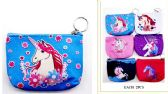 12 Units of Wholesale Unicorn Coin Purse assorted design - PURSES/WALLETS