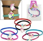 120 Units of 2 Pieces Silicone Rainbow Unicorn Friendship Bracelets Set - Bracelets