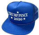 24 Units of 2020 Trump Pence Mesh Hats - royal - Baseball Caps/Snap Backs