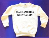 12 Units of Make America Great Again Youth Sweats - Black ink - Kids Vest