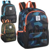 "24 Units of Mountain Edge 17 Inch Printed Daisy Chain Backpack - Backpacks 18"" or Larger"