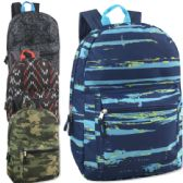 24 Units of 17 Inch Printed Backpacks - Boys - Backpacks 17""