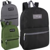 24 Units of Adventure Trails 17 Inch Backpack - 3 Colors - Backpacks 17""
