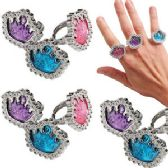 240 Units of Kiddie Princess Rings - Rings