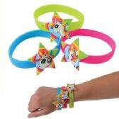 144 Units of Silicone Star Unicorn Bracelets - Bracelets
