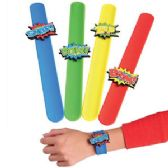 48 Units of Superhero Slap Bracelets - Bracelets