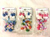 24 Units of Wholesale Kid Kitty Bracelet with Earring set - Bracelets